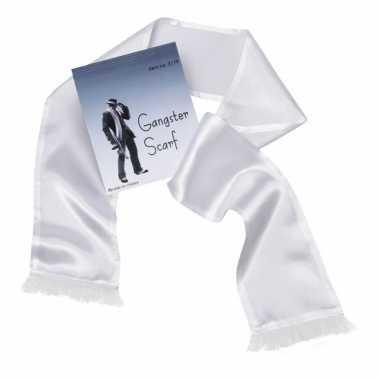 Maffia sjaal met kwastjes