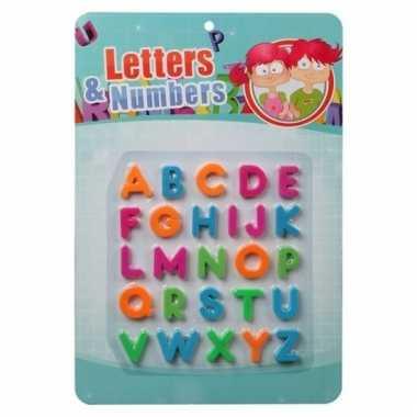 Magnetische gekleurde letters