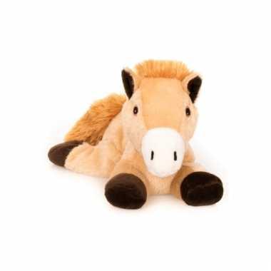 Magnetron bruin paard knuffeldier 18 cm