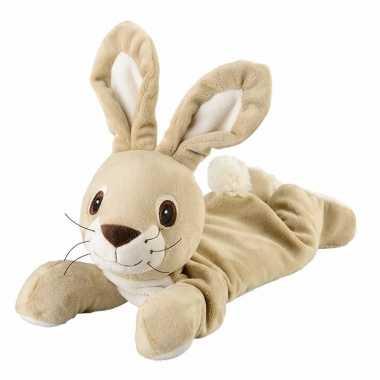 Magnetron liggende konijn knuffeldier