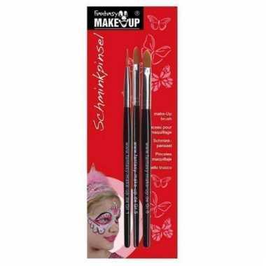 Make-up penselen 3 stuks