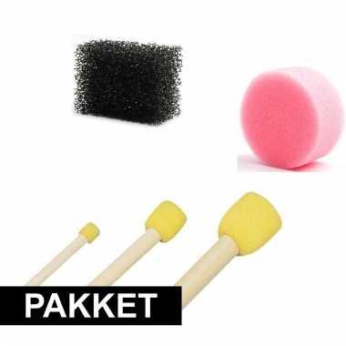 Make-up / schmink sponsen 5 stuks