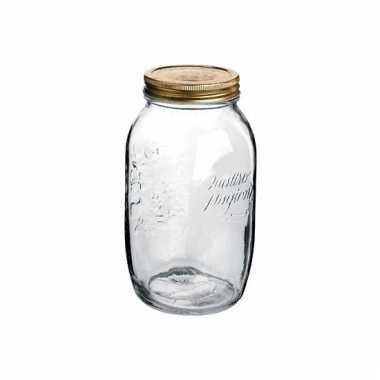 Mason jar glazen pot 1500 ml