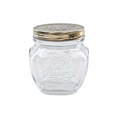 Mason jar glazen pot 200 ml