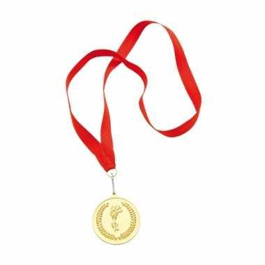 Medaille goud gekleurd