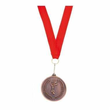 Medaille met lint brons