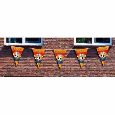 Mega supporters vlaggenlijn oranje
