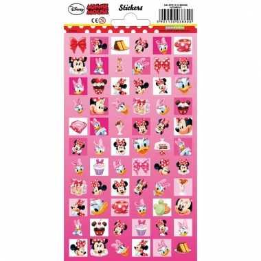 Meisjes stickers minnie mouse