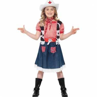 Meisjes verkleedpak cowgirl