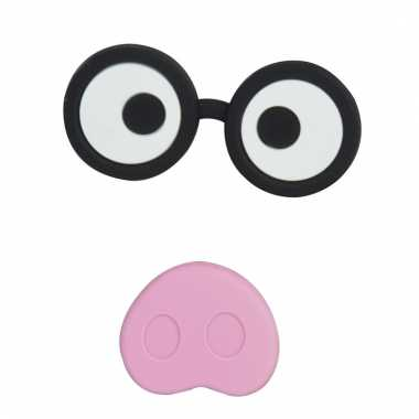 Memo magneten set varkens gezichtje