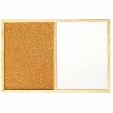 Memo prikbord / magnetisch bord 59 x 39 cm