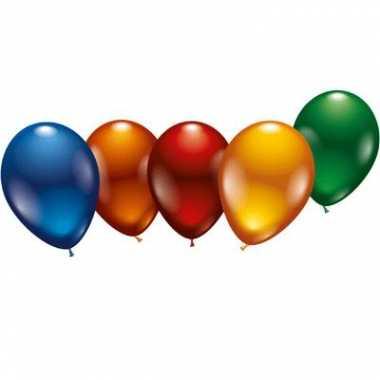 Metallic kleurige ballonnen