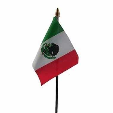 Mexicaanse landenvlag op stokje