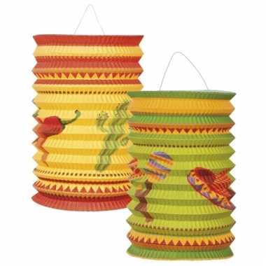 Mexicaanse lantaarns 2 stuks