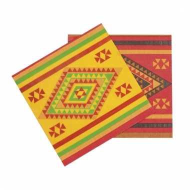 Mexico versiering servetten