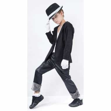 Michael verkleed kleding voor kids + hoed