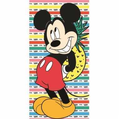 Mickey ananas badlaken 70 x 140 cm