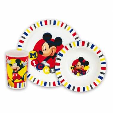 Mickey mouse lunch set voor kinderen