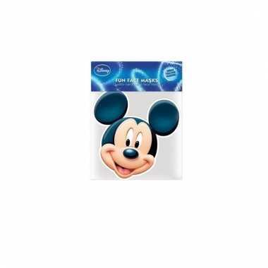 Mickey mouse masker van karton