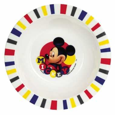 Mickey mouse ontbijtset bord