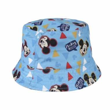 Mickey mouse vissershoedje voor kinderen
