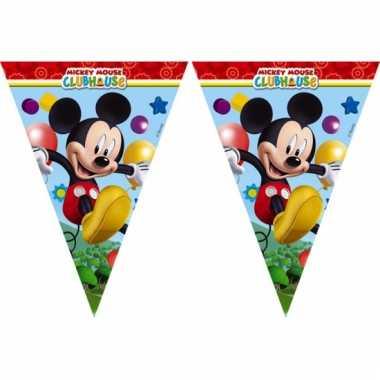 Mickey mouse vlaggen slinger 2,3 meter