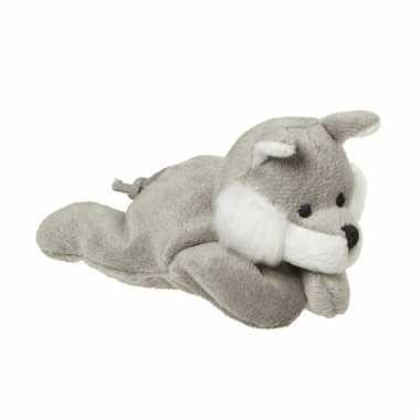 Mini pluche wolf 13 cm