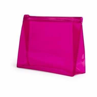 Mini toilettas roze 17 cm