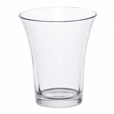Mini vaasje helder glas 12 cm