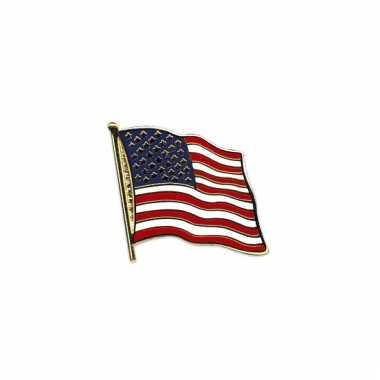 Mini vlaggetje pin amerika