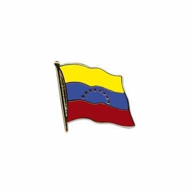 Mini vlaggetje pins venezuela