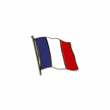 Mini vlaggetjes pins frankrijk