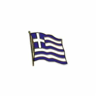 Mini vlaggetjes pins griekenland
