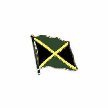 Mini vlaggetjes pins jamaica