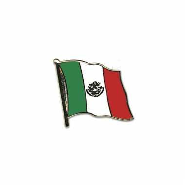 Mini vlaggetjes pins mexico