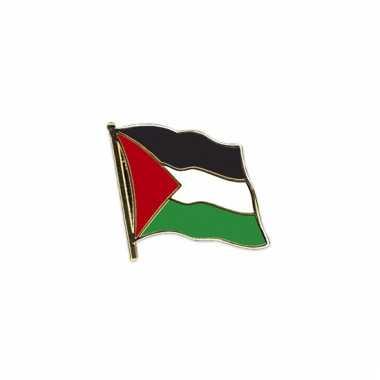 Mini vlaggetjes pins palestina
