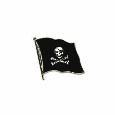 Mini vlaggetjes pins piraten