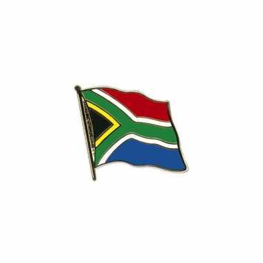 Mini vlaggetjes pins zuid afrika