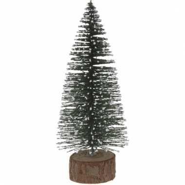 Miniatuur kerstboompje groen 25 cm