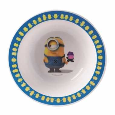 Minions bord voor peuters 16 cm