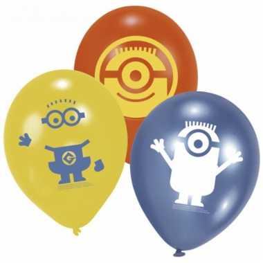 Minions kinderfeest ballonnen