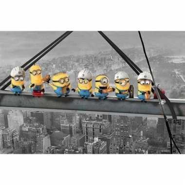 Minions new york bouwvakkers poster