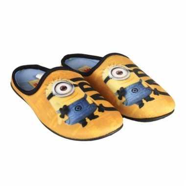 Minions pantoffels voor kinderen
