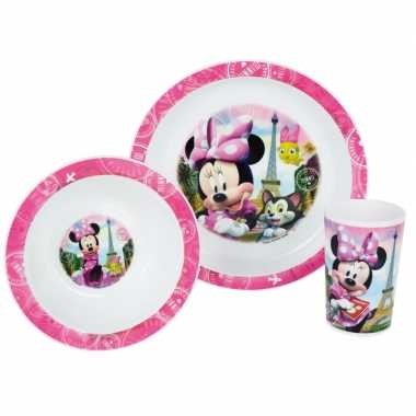 Minnie mouse lunch set voor kinderen