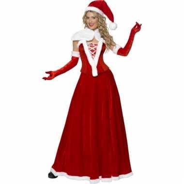 Miss santa kostuum voor dames