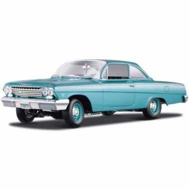 Modelauto chevrolet bel air 1962 1:18