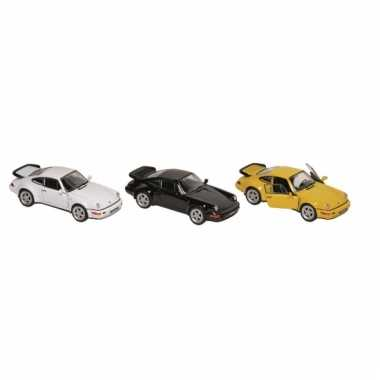 Modelauto porsche turbo 11 cm