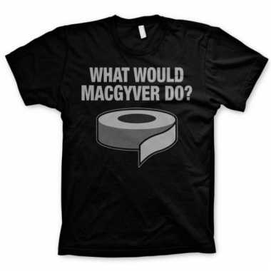 Movie shirt macgyver