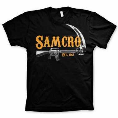 Movie t-shirt samcro voor heren