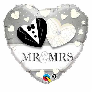 Mr. en mrs. folie ballon